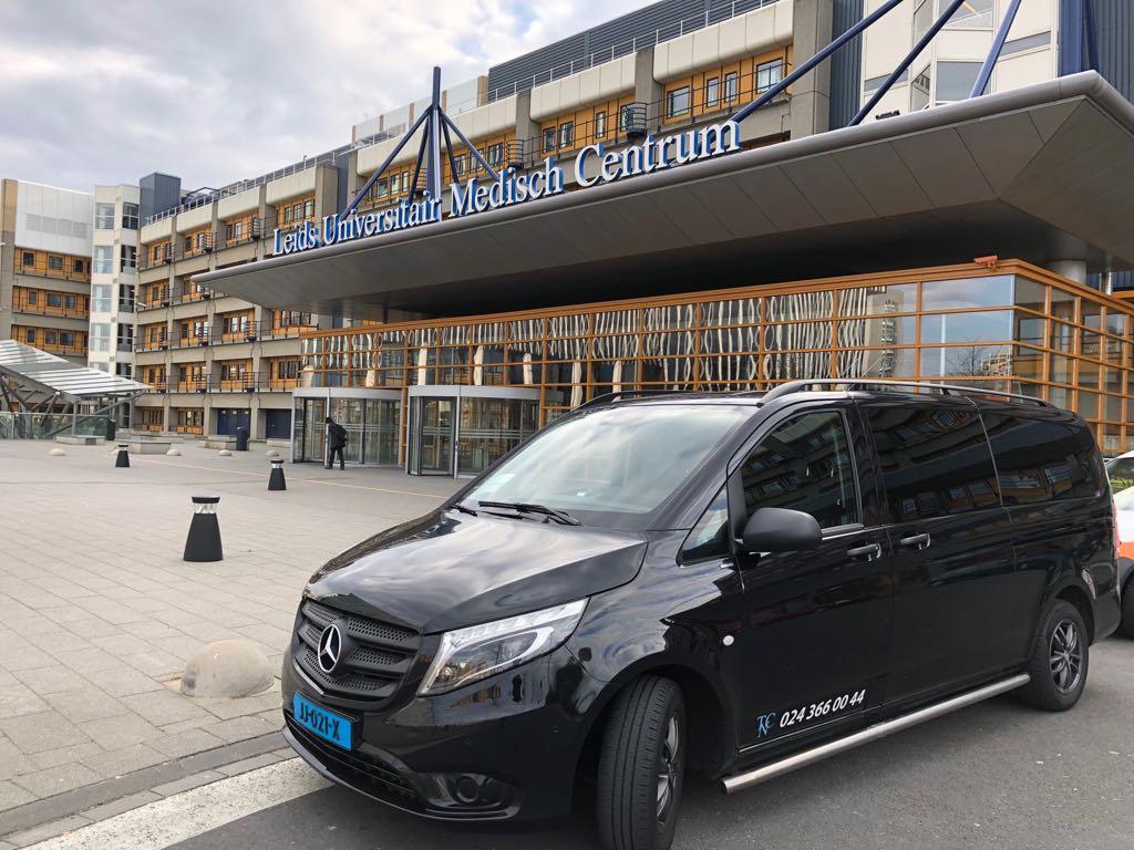 ziekenhuisvervoer in Nijmegen